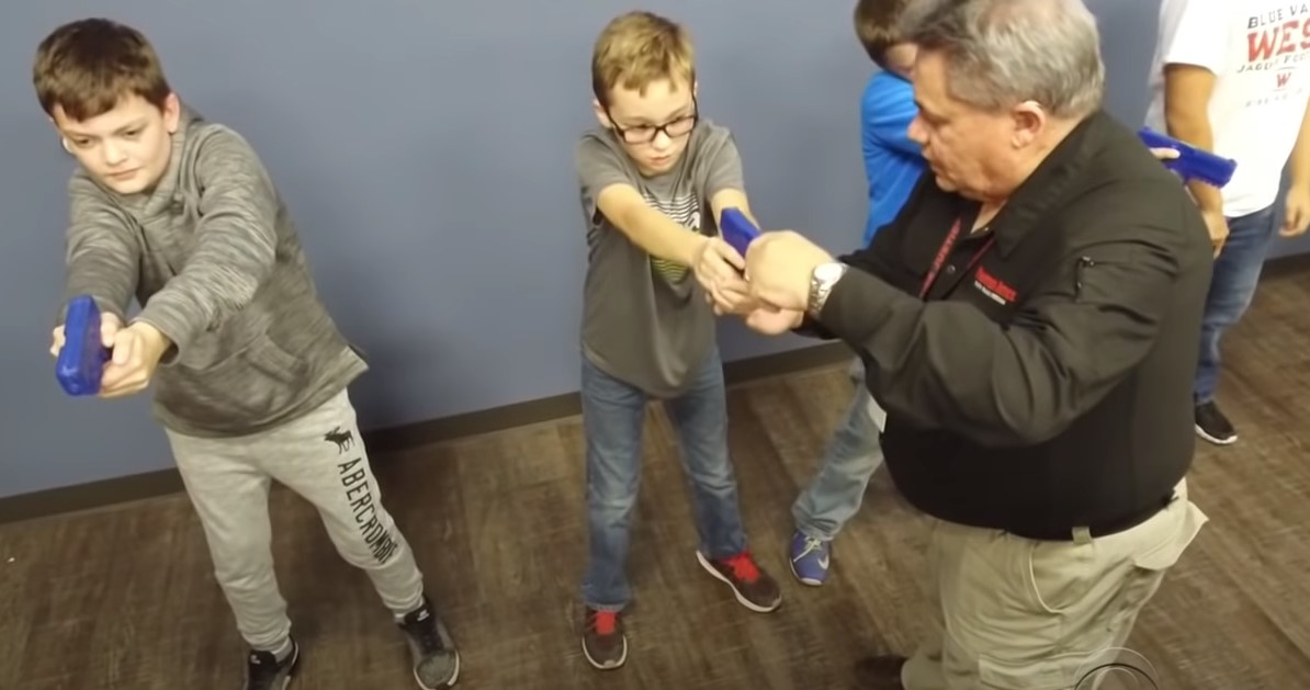 Kids About Gun Safety With Robert Larry