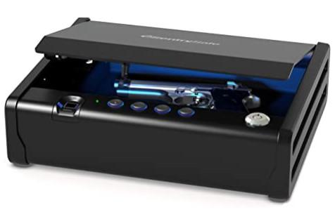 SentrySafe QAP1BLX Quick Access Biometric Pistol Safe