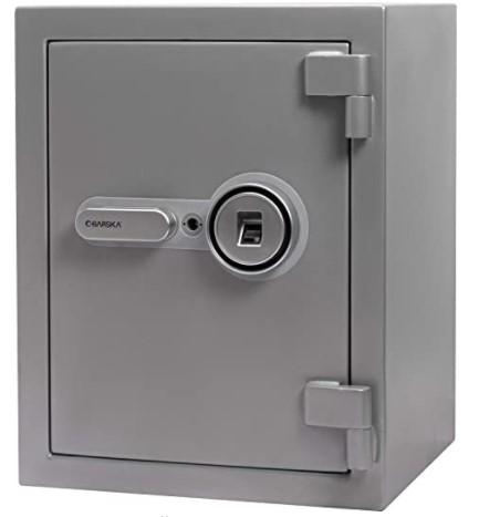 BARSKA AX13494 Biometric Fireproof Safe