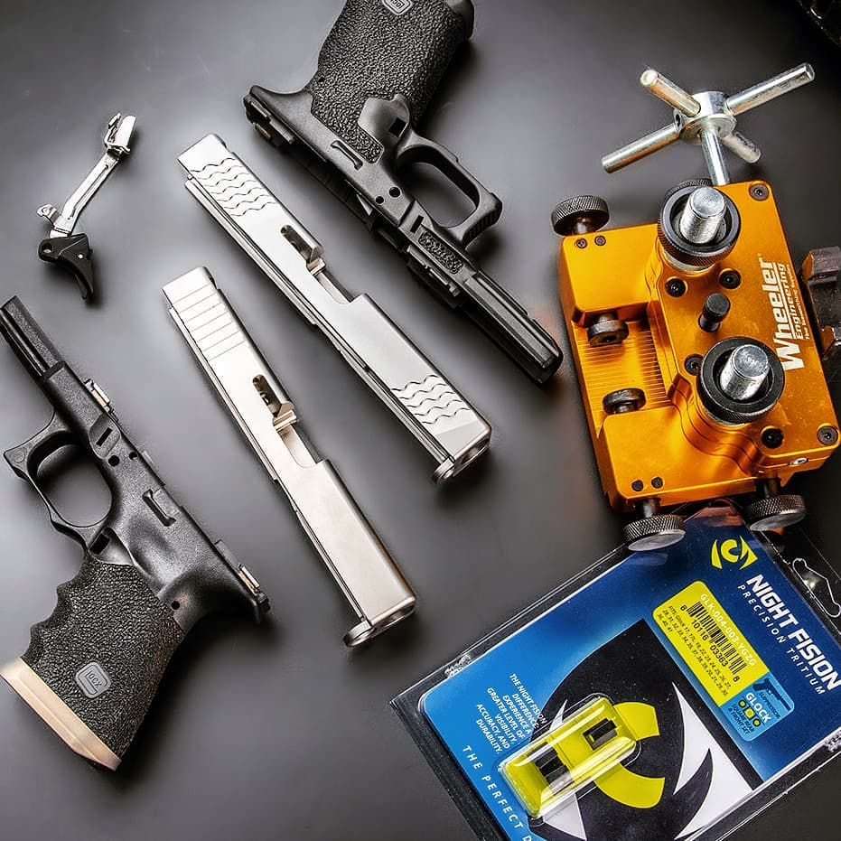 How To Replace Glock Pistol Sights