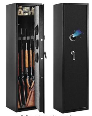 WINZONE Biometric Gun Safe for Rifles and Pistols