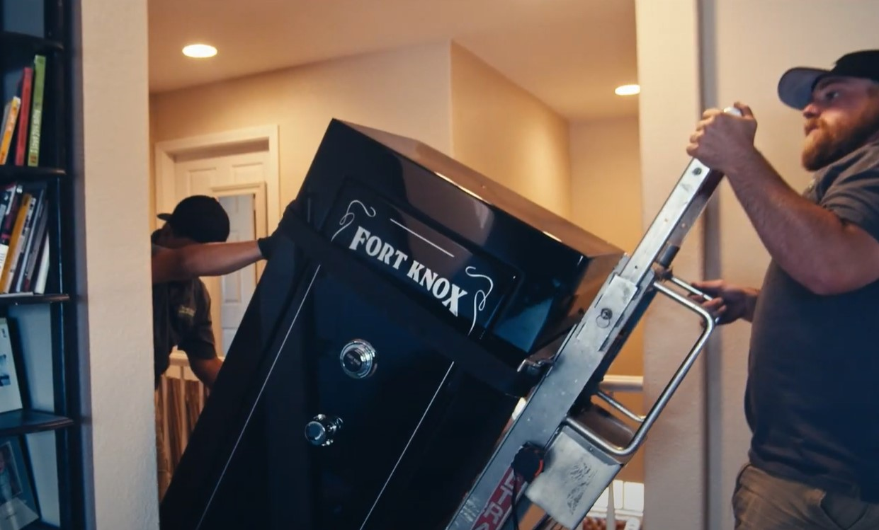 How To Move A Safe Up Stairs